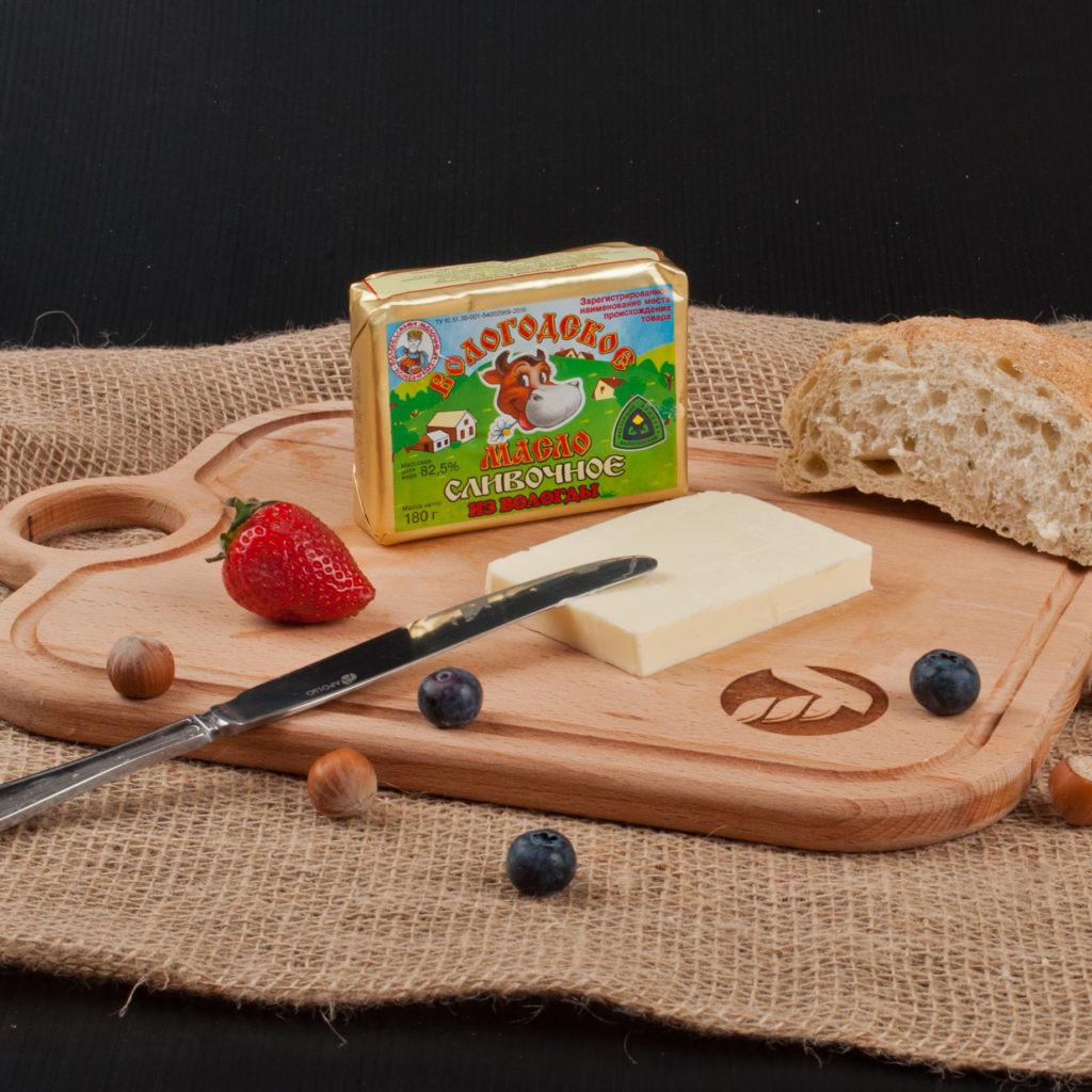 Масло сливочное Вологодское 82,5%