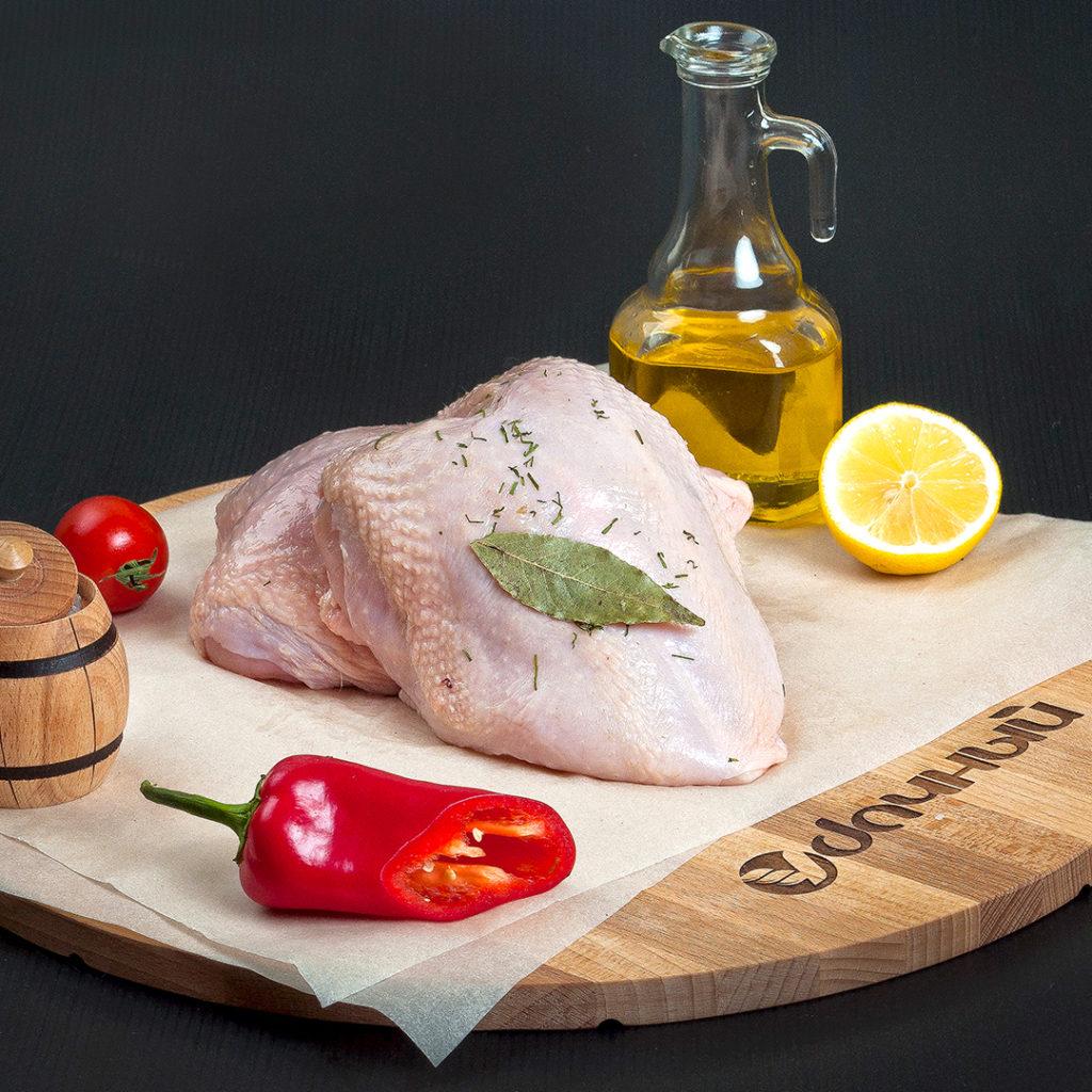 Грудинка цыпленка на кости