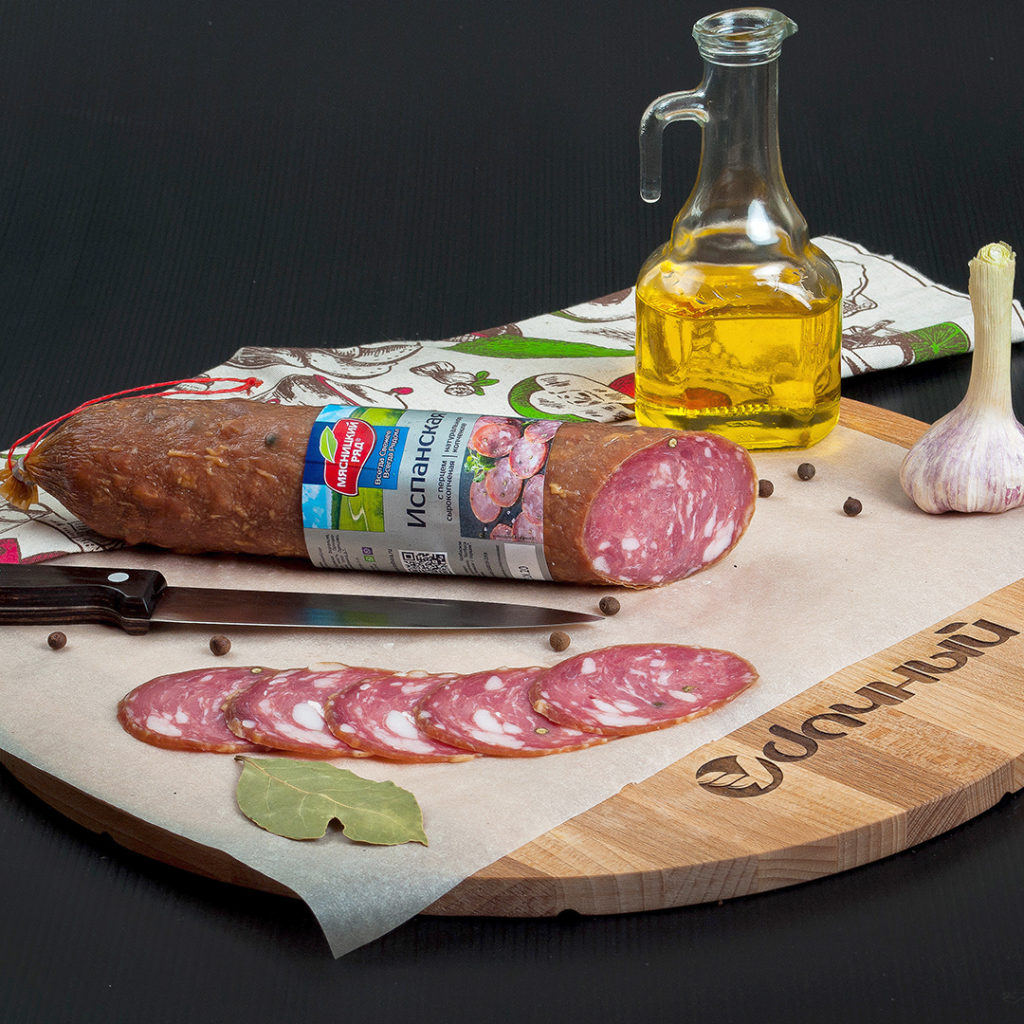 Колбаса Испанская СК с перцем