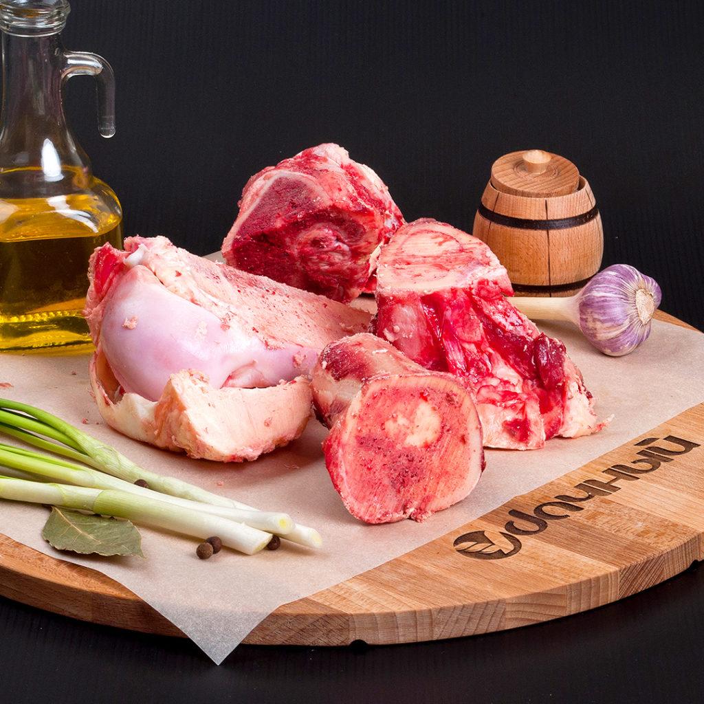 Кость пищевая говяжья