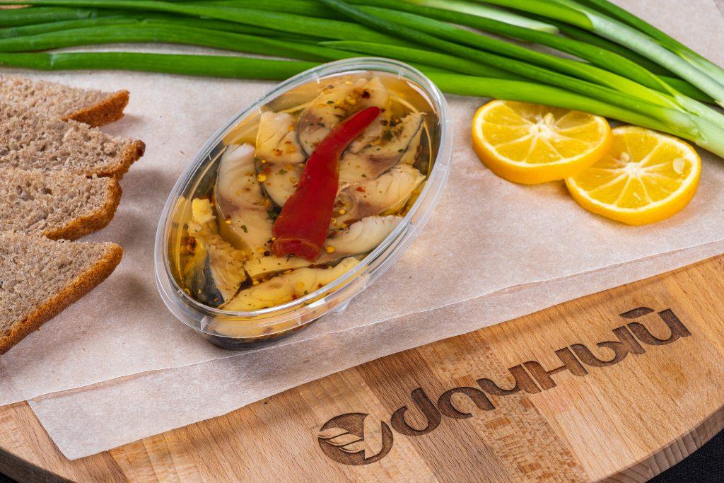 Скумбрия атлантическая с перцем филе-кусочки