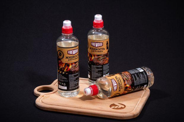 Жидкость для розжига, 0,5 л, Firewood.