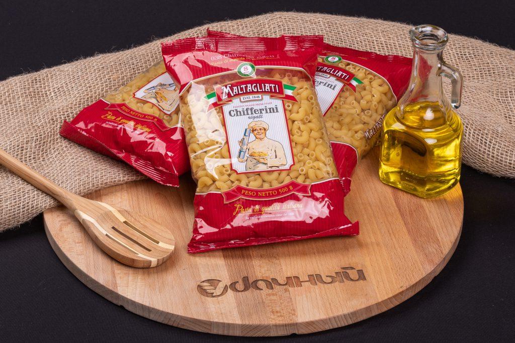 Макароны Maltagliati 038 Chifferini rigati