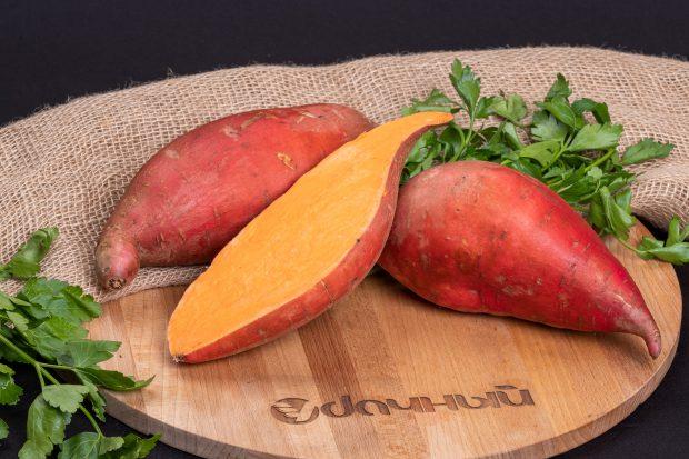 фермерский картофель батат