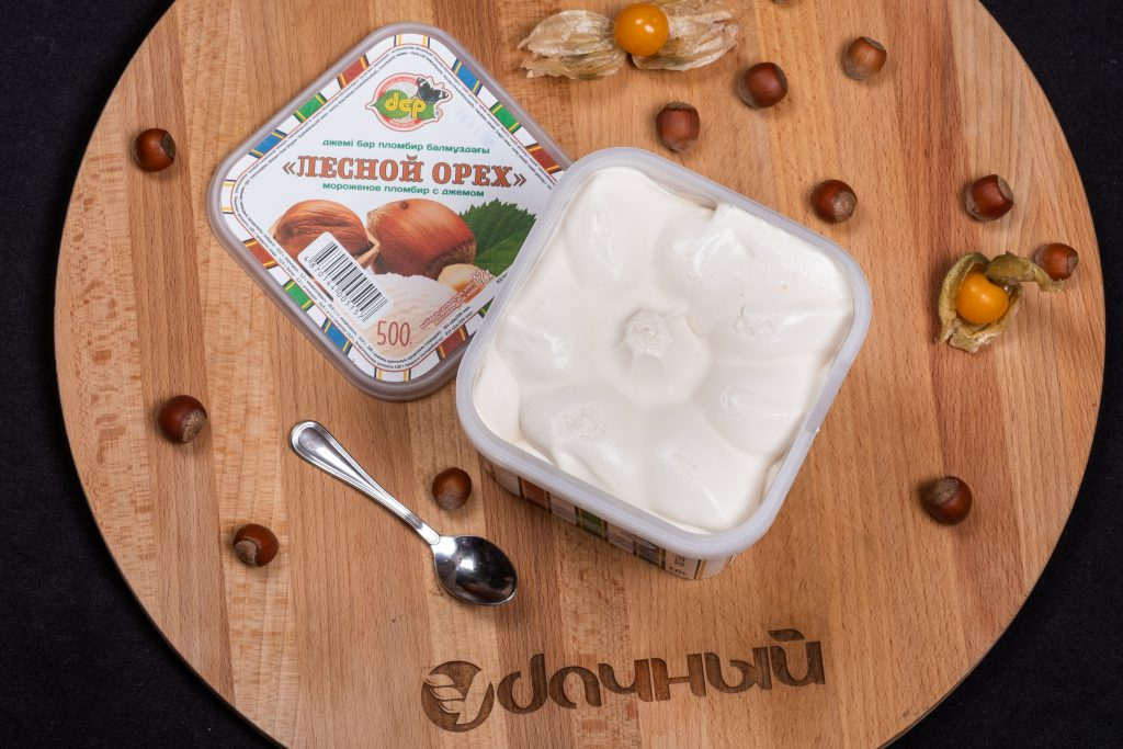 мороженое со вкусом лесной орех