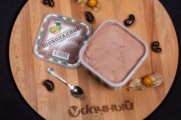 мороженое шоколадное контейнер