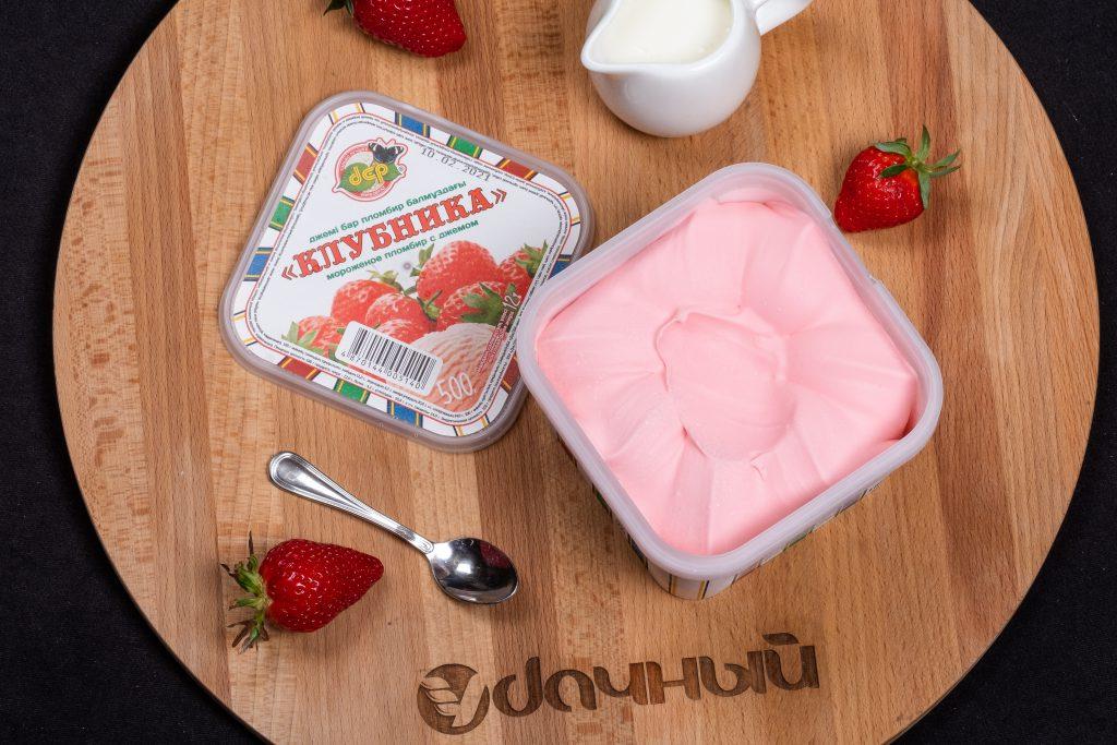 клубничное мороженое казахстан