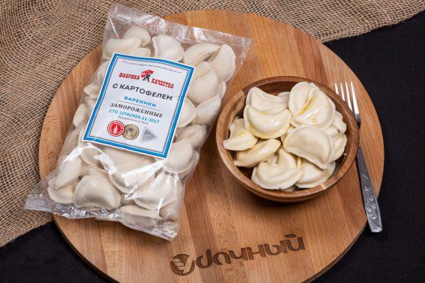 вареники с картофелем для самых близких