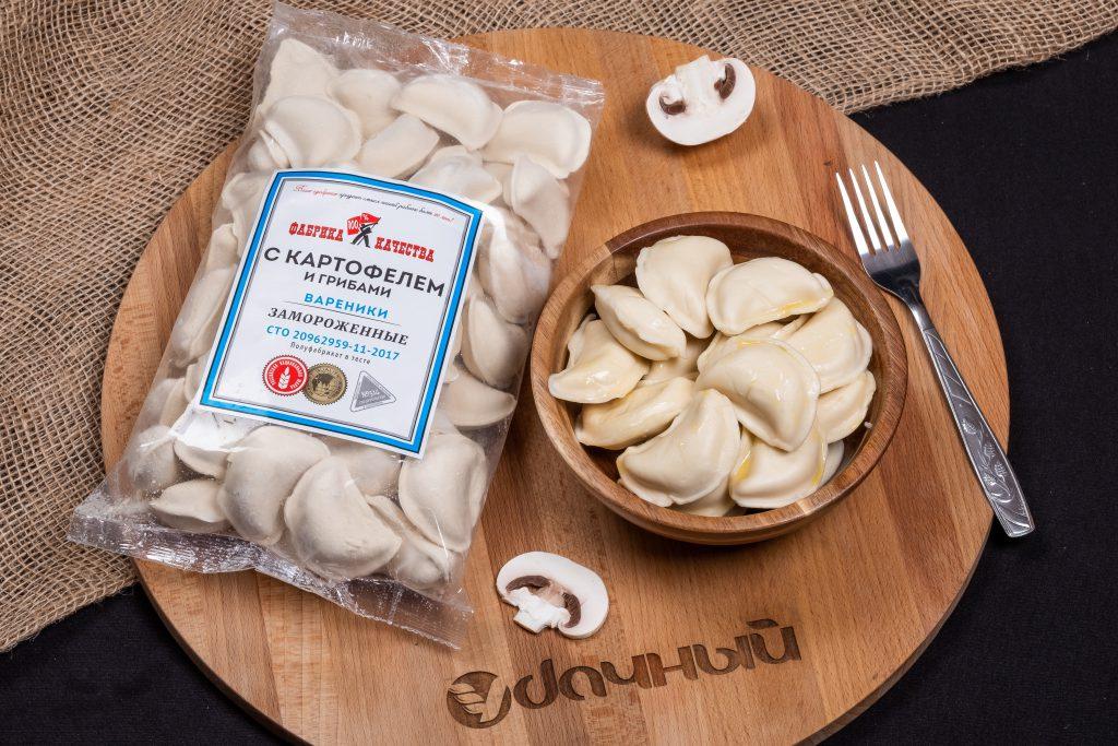 вареники с картофелем и грибами фабрика качества