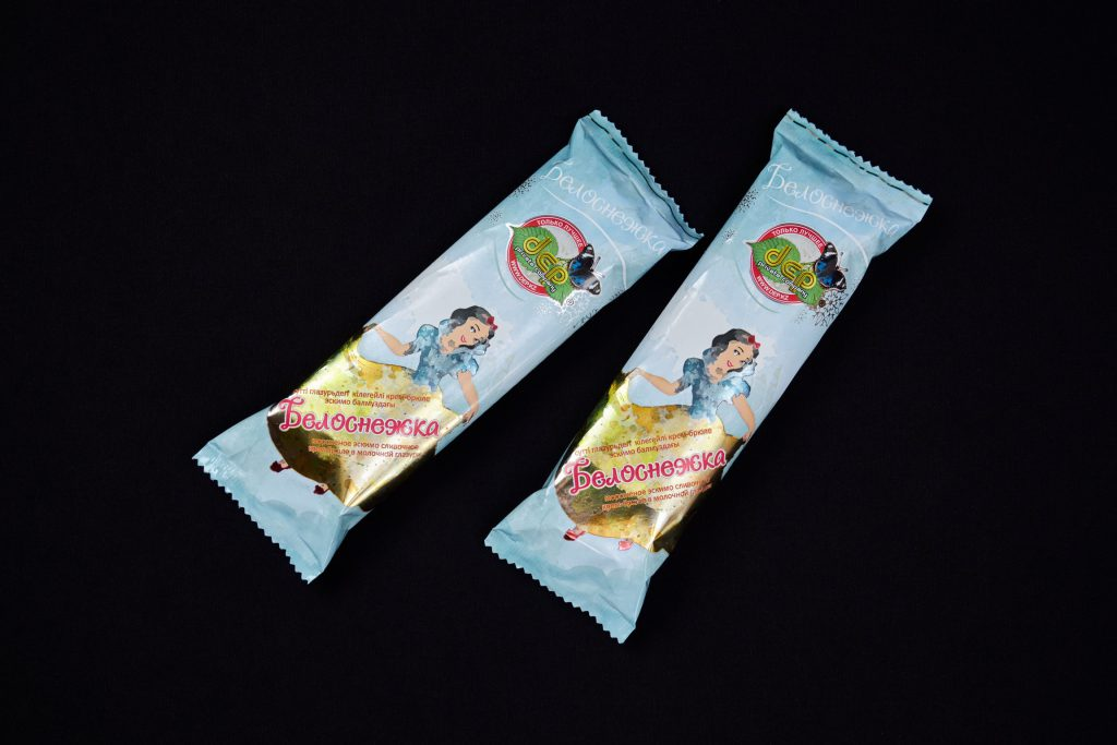 Мороженое эскимо сливочное крем-брюле в молочной глазури, ДЭП.