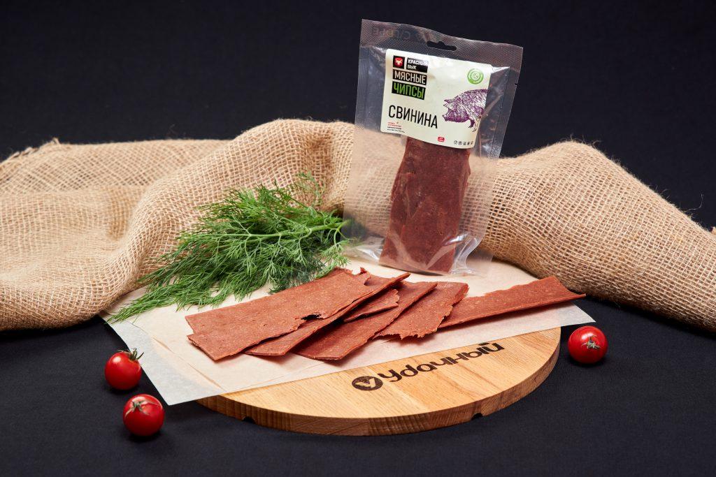 Чипсы из рубленного мяса свинины С/В
